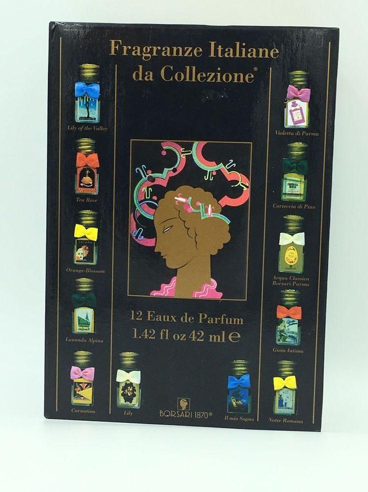 Borsari 1870 Italian Perfume Collection Fragranze ITALIANE12 Eaux de Parfum Set   eBay
