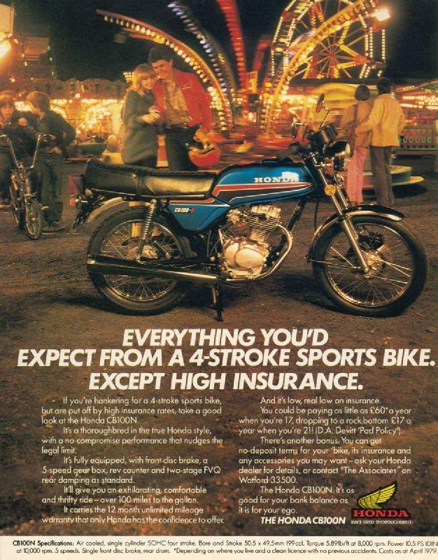 vintage honda motorcycle ads. cb100n 1980jpg 626800 vintage honda motorcycle ads n