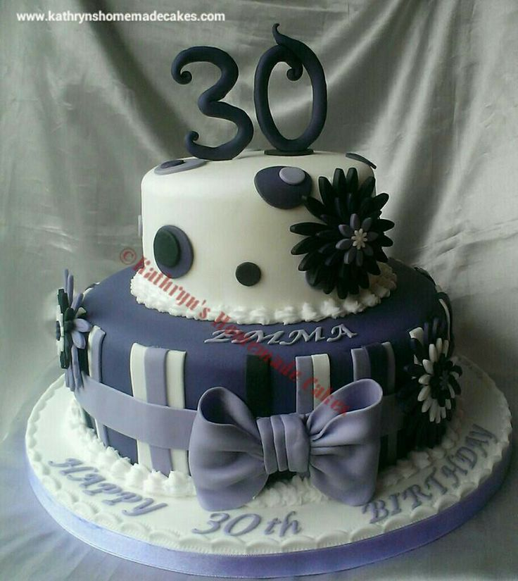 25+ Best Ideas About 30th Cake On Pinterest