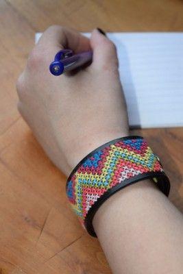 Armband borduren