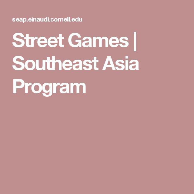 Street Games | Southeast Asia Program