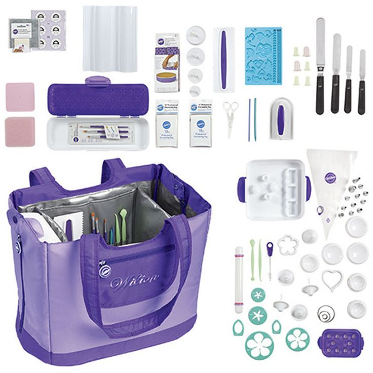 This set is the best way to add a wide variety of quality tools for all your cake decorating and sweet treat making needs.