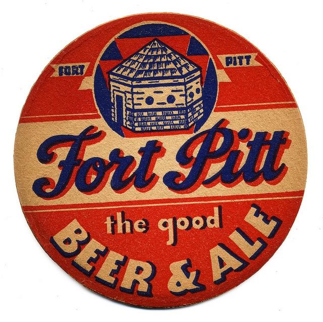 That's it, Fort Pitt.  Fort Pitt Beer & Ale.   Fort Pitt Brewing Co.,  Sharpsburg, PA.