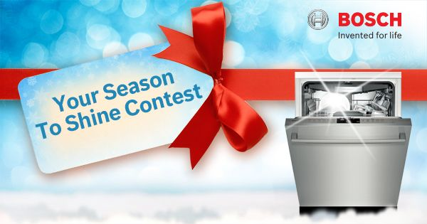 Enter to WIN 1 of 4 Bosch dishwashers https://www.facebook.com/boschcdn/app_802800929781530