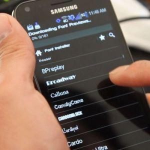 Inilah Cara Mengubah Font Android Yang Paling Gampang