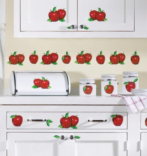 627 best a is for apple images on pinterest apples apple kitchen decor and fruit for Home interiors apple orchard collection