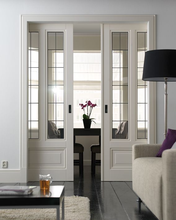 these glass pocket doors are a must