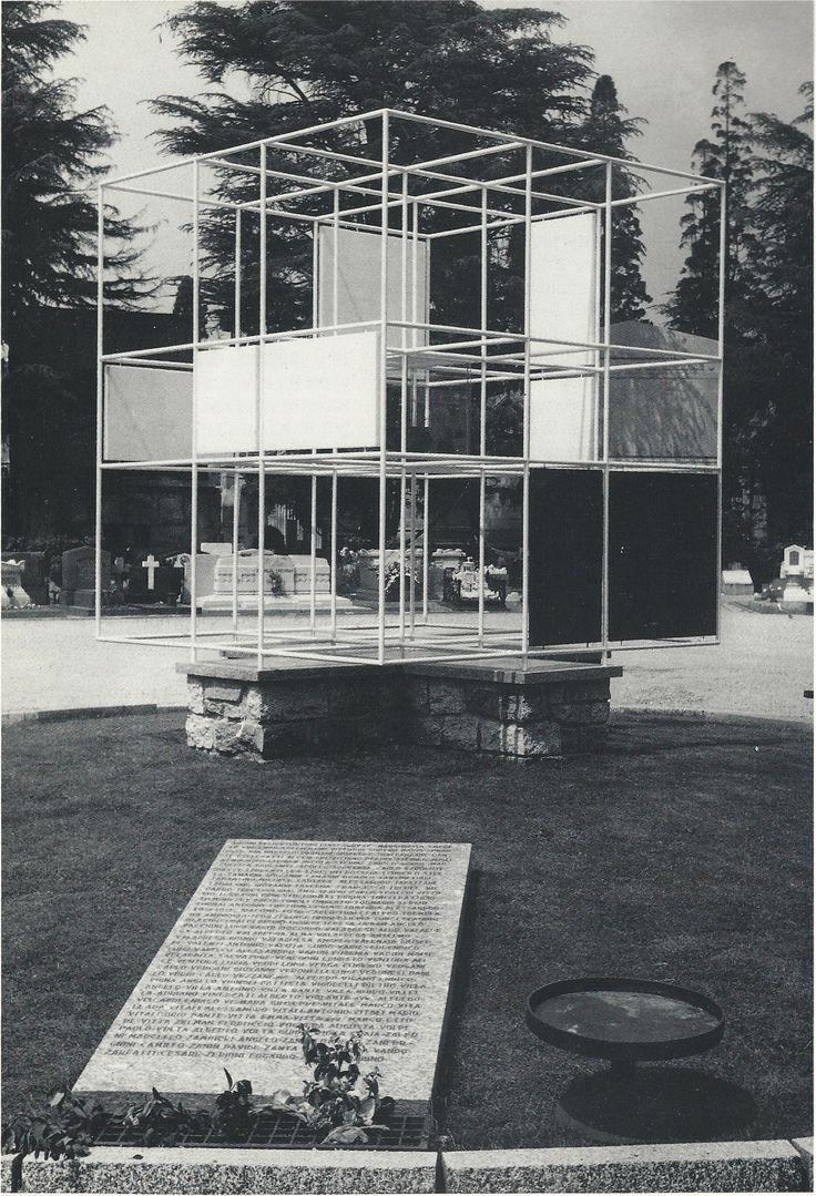 Monumento ai caduti, cimitero Monumentale, Milano, BBPR #bbpr #architecture #inatallation #design