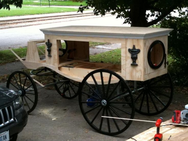 HF member Halloween hearse build