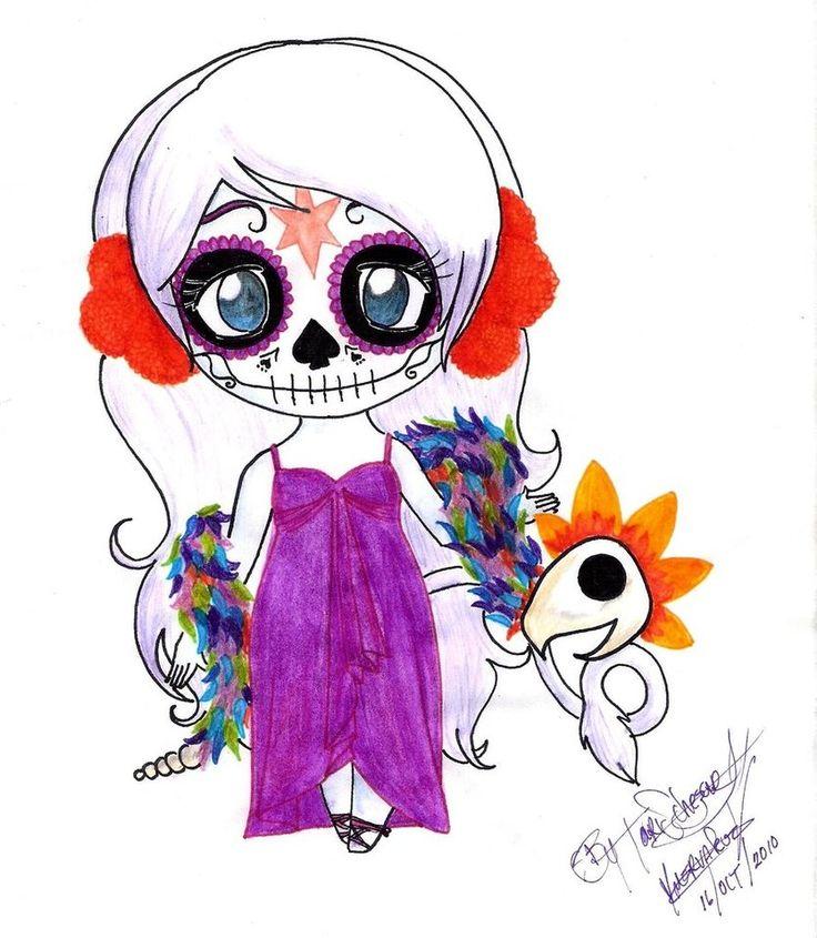 catrina dibujo - Buscar con Google Celene Catrina by hyuugaemi ...