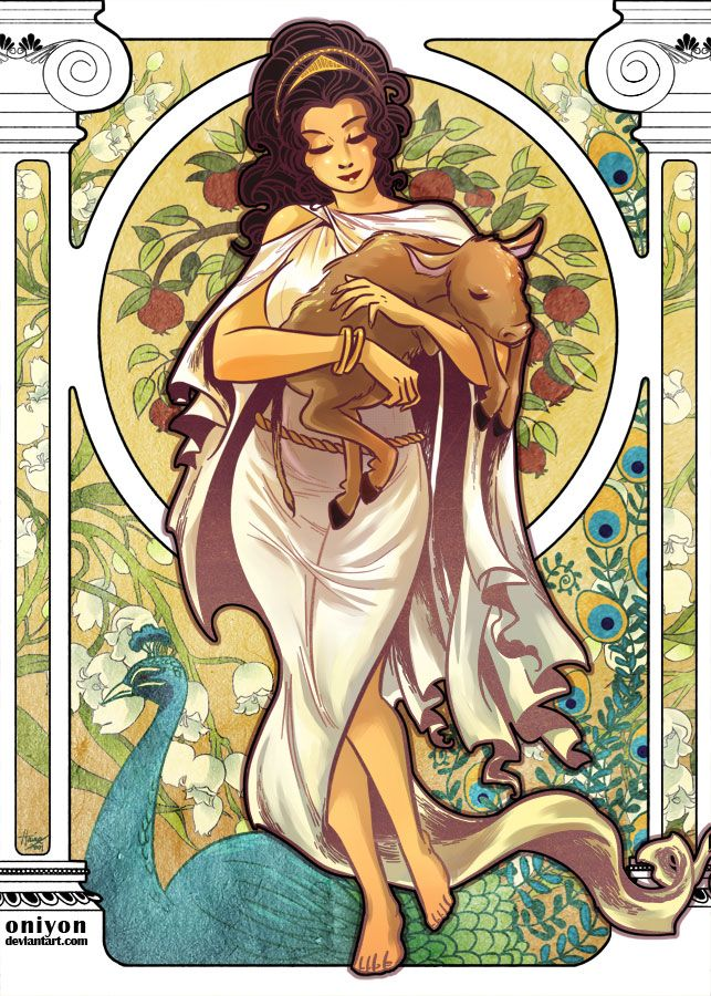 Classic Mythology: Hera by HanieMohd.deviantart.com on @deviantART