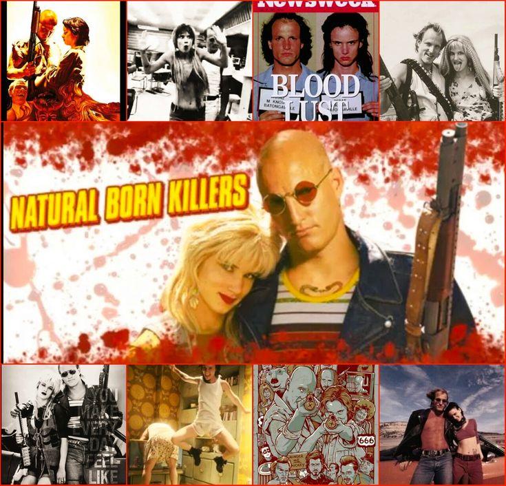 Natural Born Killers poster Wallpaper