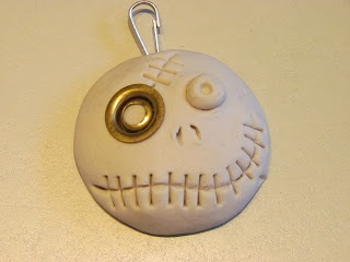 Air Dry Clay Tutorials: Cute Monster Keychains, Magnets or Brooches cute for Halloween