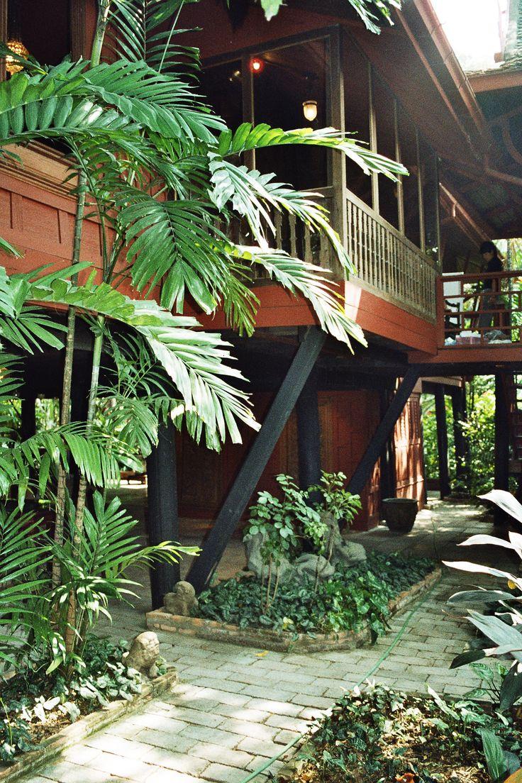 Jim Thompson`s house, Bangkok, Thailand.