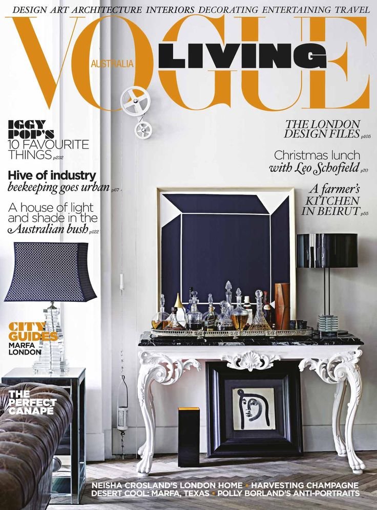 Vogue Living Jan/Feb 2011