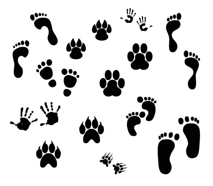 KLDezign SVG: Fingerprints-the tiger paws could be useful around here.