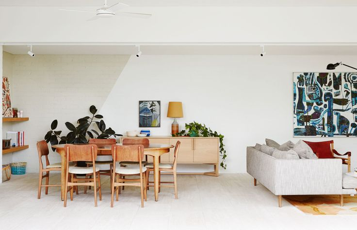 The Westgarth Home of Bella Stagoll and family, designed by Melbourne architects Kennedy Nolan. Photo – Annette O'Brien. Production – Lucy Feagins / The Design Files.