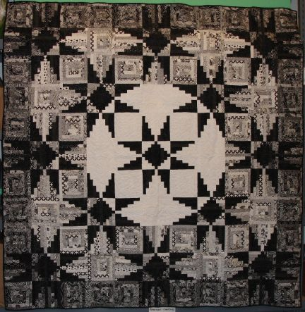 Sequoia Stars quilt made from the original pattern in Judy Martin's Log Cabin Quilt Book. Made by Mary Berger. Viewer Photos