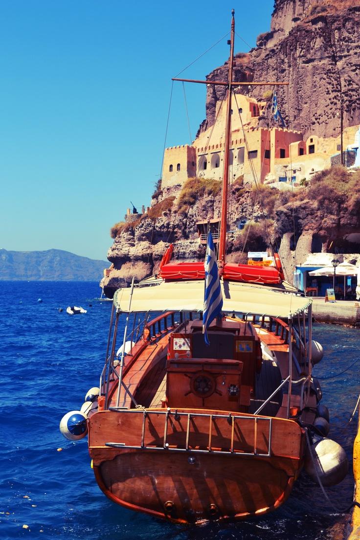 Fira Port in Satorini