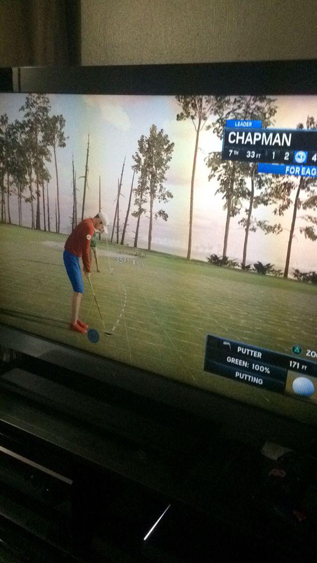 Hole 18 on PGA Tour Rory McLRoy shot -36 on that tournament