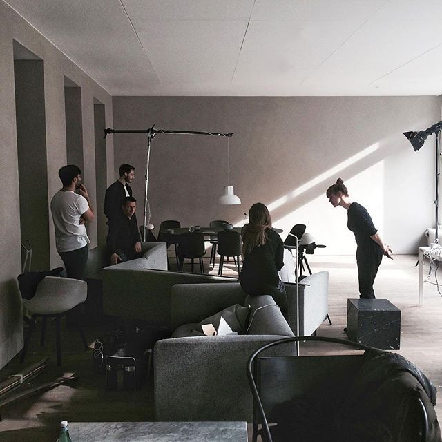 Shooting with Menu at the Ouur Gallery, Copenhagen. @menuworld