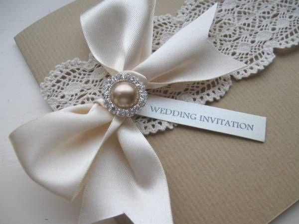 22 Awesome pearl themed wedding invitations images