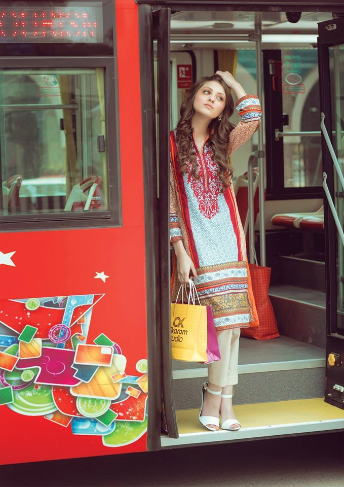 Alkaram Spring 2 Piece Kurti Lawn Collection is one of the designs that are launched in lawn catalog of the Alkaram which we will be discussing in detail.
