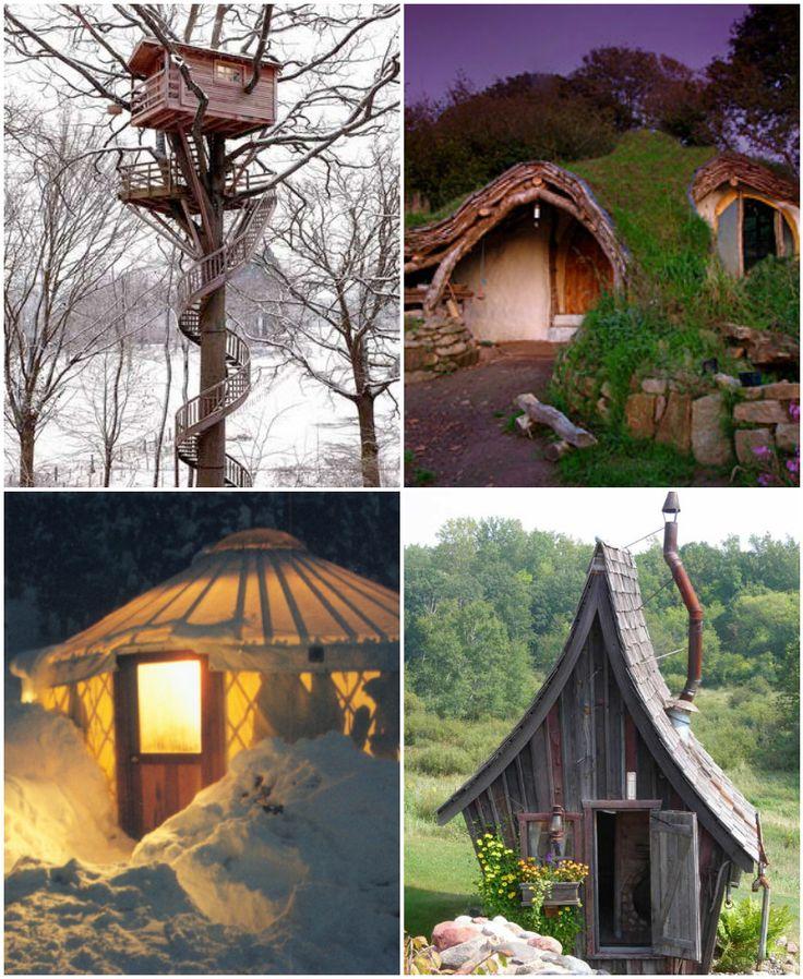 25 Amazingly Tiny Homes Amazingly Tiny Tree Houses Tiny Houses