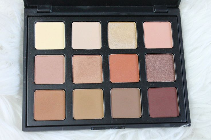 Morphe 12 NB Palette - Perfect for Fall/Winter - Eyeshadow for fall - To see swatches click on my blog :)