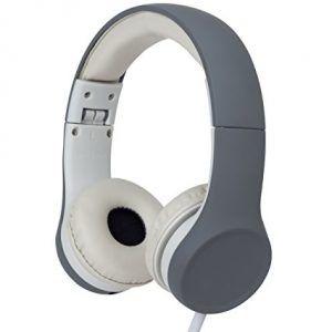 Snug Play+ Kids Headphones Volume Limiting and Music Share Port (Grey)