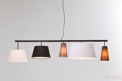 Pendant Lamp Parecchi Black 165