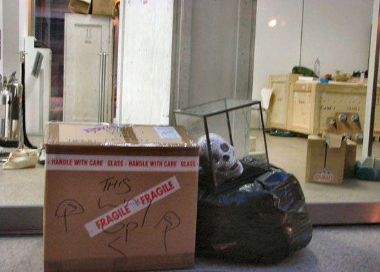 "Laura Keeble, ""Forgotten Something!?"", July 8, 2007, 3:30am Whitecube Gallery, London."