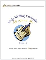 Daily Writing Prompts Printable Book: All About Me (Gr. 1-4) -- These writing prompts are a great way to learn about your new students!