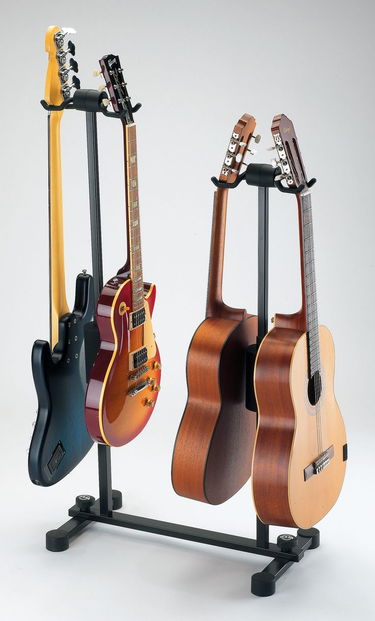 Unser 4-fach Gitarrenständer Roadie bei delamar im Test