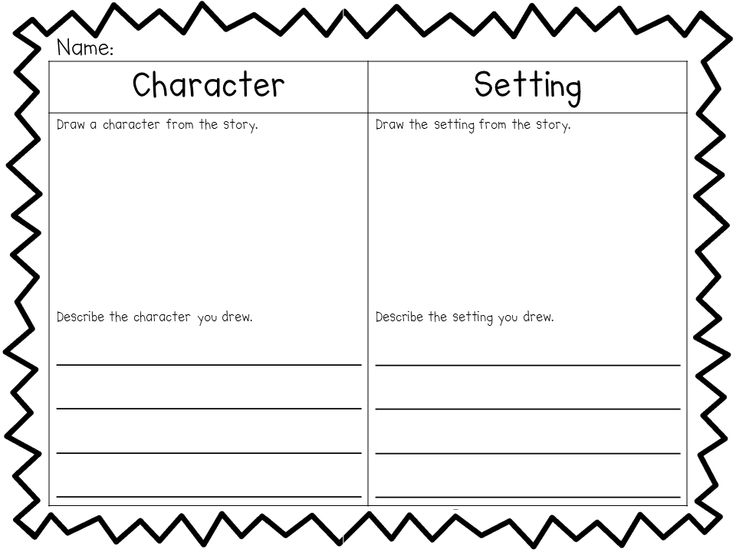 ... worksheets setting characters worksheet image source englishlinx com
