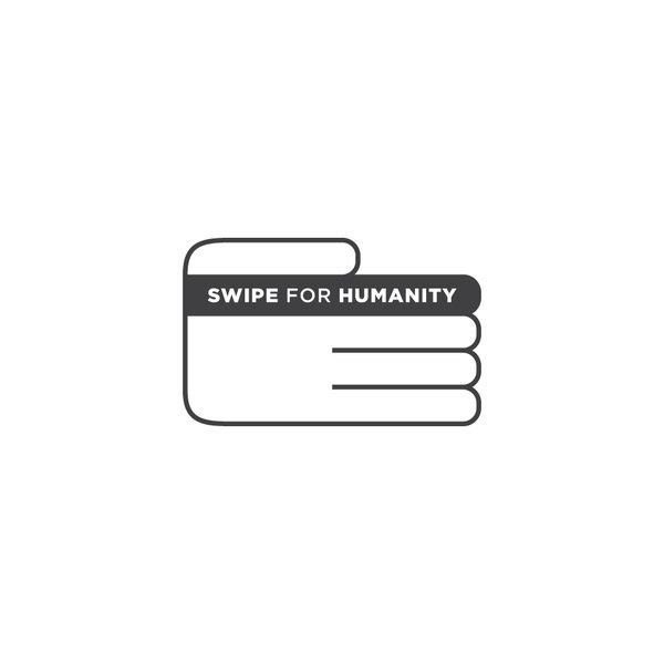Swipe for Humanity logo