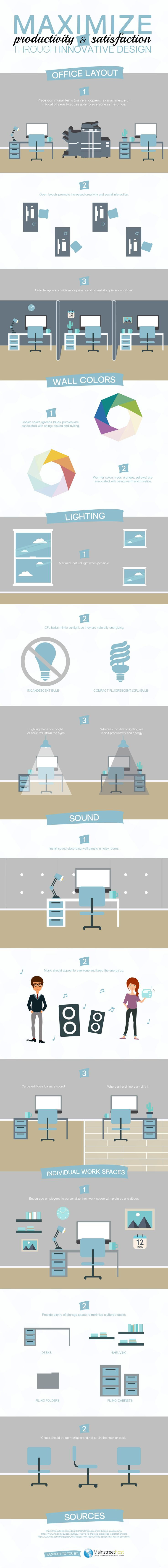 Optimizing Your Workspace for Employee Productivity [Infographic]