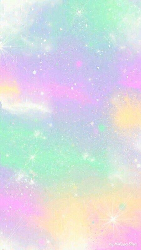 Unicorn Pastel Sky Wallpapers Nel 2019 Sfondo Colorato