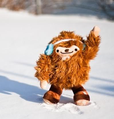 Cute Bigfoot