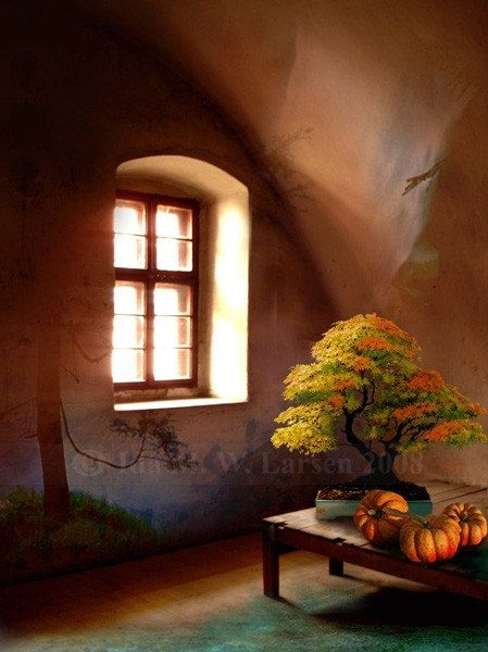 The Autumn Room  Print by Mizzdraconia on Etsy, $17.00