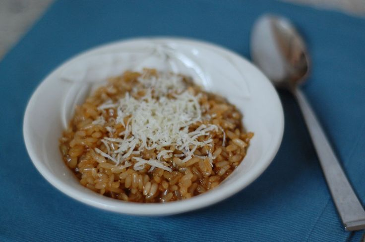 Recipe: Brown Rice Risotto http://www.100daysofrealfood.com