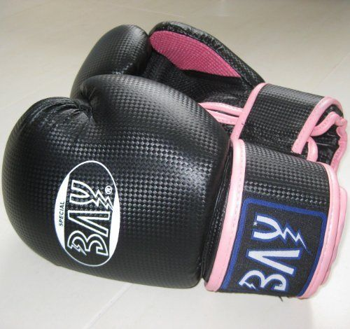 """BAY® """"fresh mesh"""" Boxhandschuhe schwarz pink rosa 10 Unzen mit Netz-Gewebe, Box-Handschuhe, Carbon Look, UZ OZ, PU-Leder, Profi Delux, Kickboxen, Boxen, Thaiboxen, Muay Thai, Frauen Damen Kinder Jugendliche Junioren Mädchen von BAY®, http://www.amazon.de/dp/B007CH7DX6/ref=cm_sw_r_pi_dp_Ga5Ssb042EY4P"""