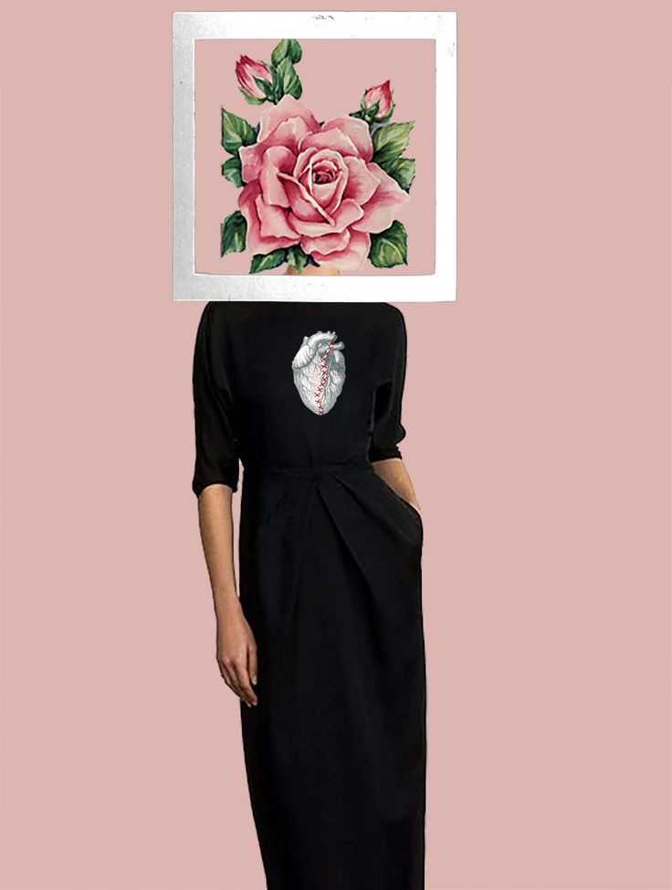 Framed Woman -By Anwaar Mohammad  Collective work-Collage