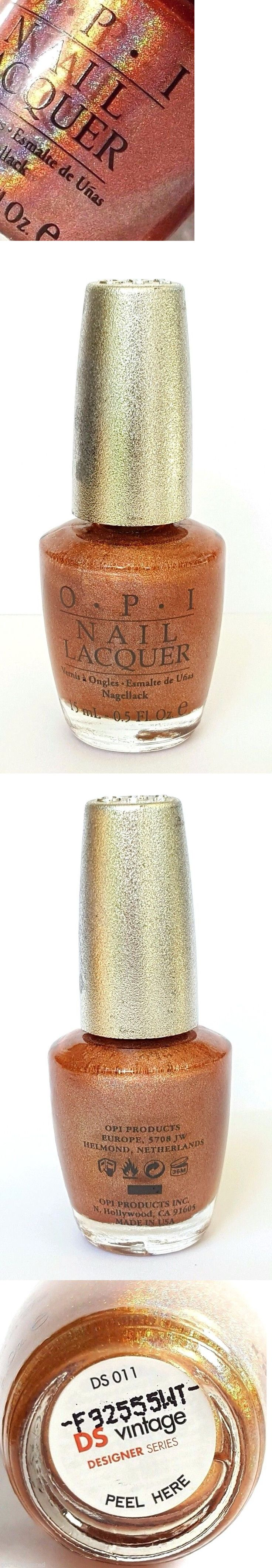 Nail Polish: Opi Designer Series Vintage Ds 011 Holographic New Nail Polish Lacaquer BUY IT NOW ONLY: $31.95