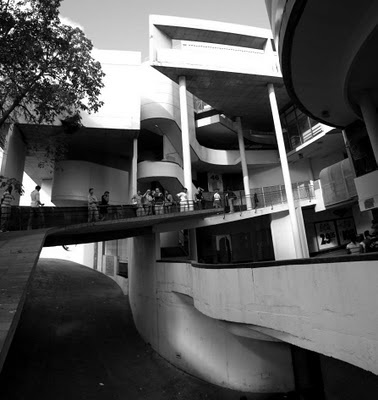 Modernism in Cape Town. Werdmuller Centre designed by Roelof Uytenbogaardt.