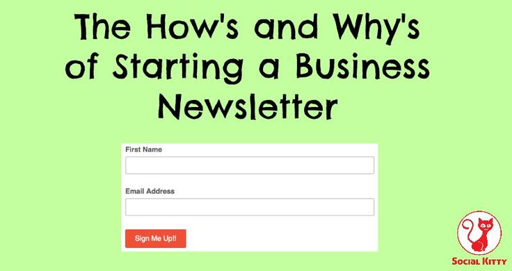 You've heard so many people talking about setting up and sending out a newsletter for their business. What's all the fuss about? Let's find out why together