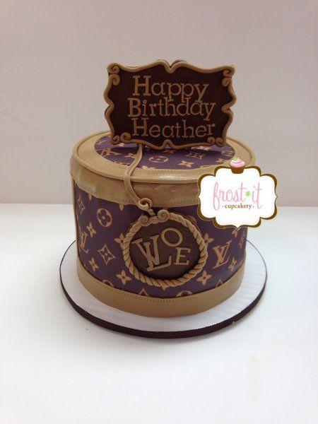 Sensational Louis Vuitton Happy Birthday Cake The Art Of Mike Mignola Personalised Birthday Cards Veneteletsinfo