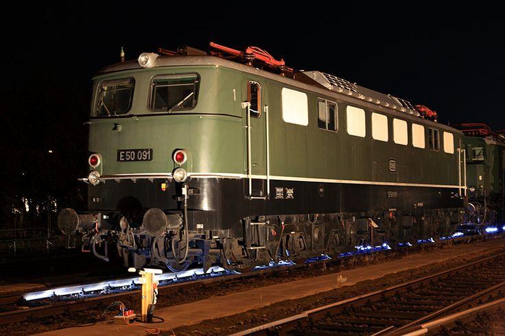 E 50 091 at  Koblenz