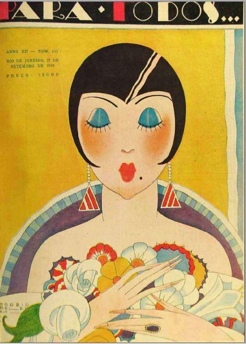 lesanneeselegantes: J.Carlos - 1930 (Art Deco)