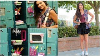 Back to School: Locker Organization + DIY Decorations!| Bethany Mota